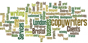 Copywriting services from copywriters in London and Bristol